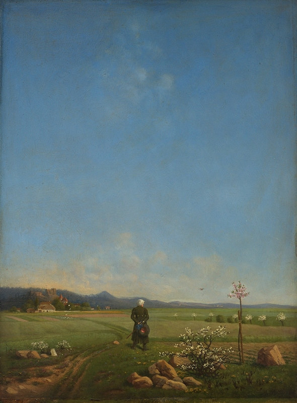 Antonín Chittussi - Polabská krajina