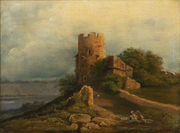 Josef Navrátil – Krajina s hradem