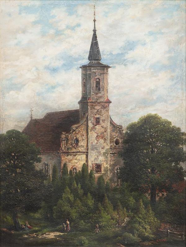 Camille Flers – Kostel z Normandie