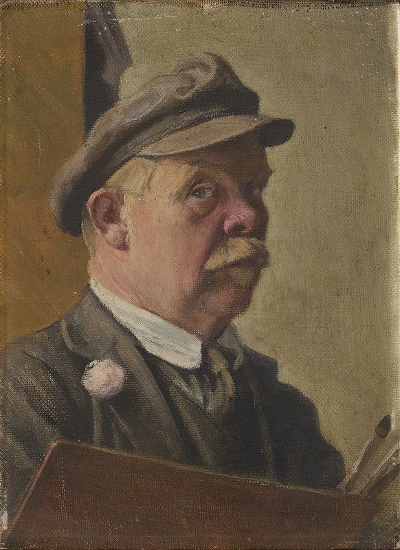 Josef Ulrich - Autoportrét