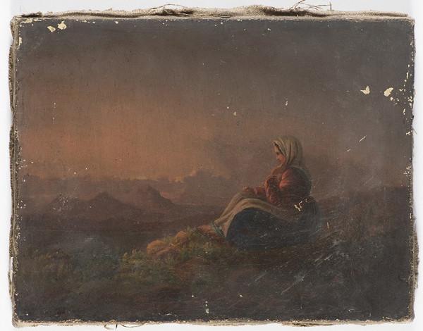 Neznámý český autor (značka A. ) - Na horách