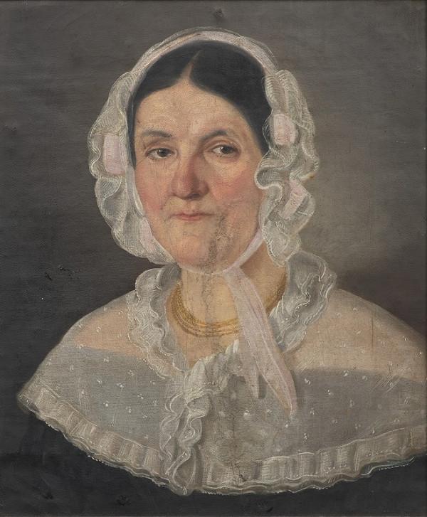Neznámý český autor – Portrét dámy