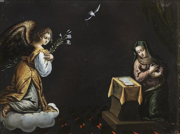 Neznámý středoevropský (?) autor – Zvěstování Panny Marie I.