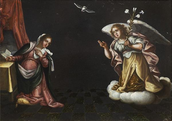 Neznámý středoevropský (?) autor - Zvěstování Panny Marie  II.