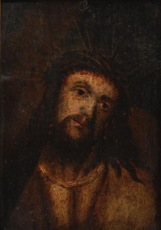 Neznámý malíř - Hlava Krista
