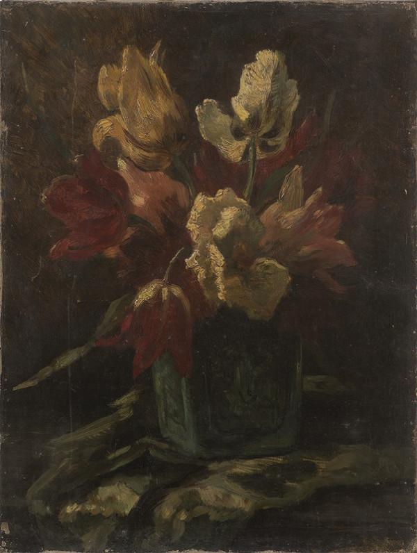 Neznámý český autor - Tulipány