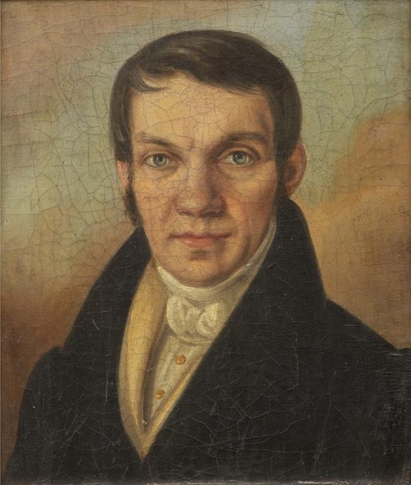 Neznámý český autor – Portrét pána