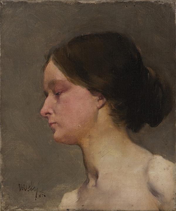 Theodor Bohdan Veselý – Hlava ženy