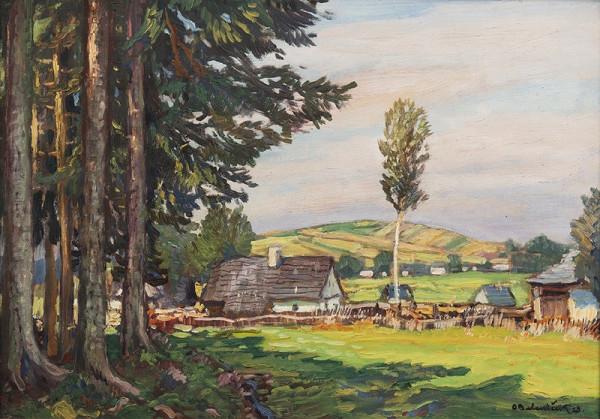 Ota Bubeníček – Vesnička u lesa