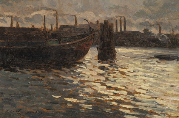 Josef Král – Z přístavu Hamburk