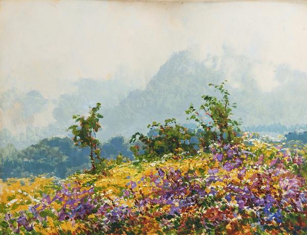 Karel Langer – Květy na Javorině v Tatrách