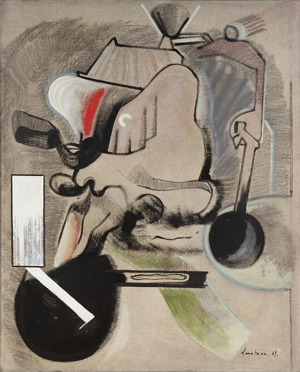 Jan Smetana - Obraz - kresba