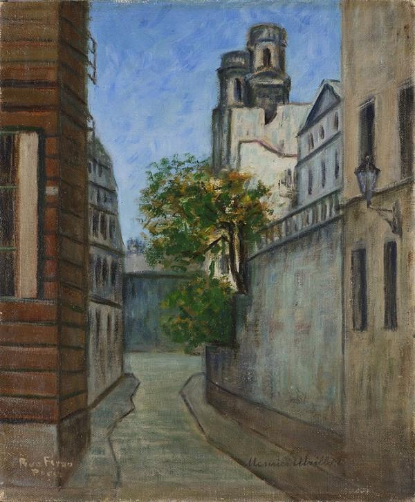 Maurice Utrillo – Rue Férou