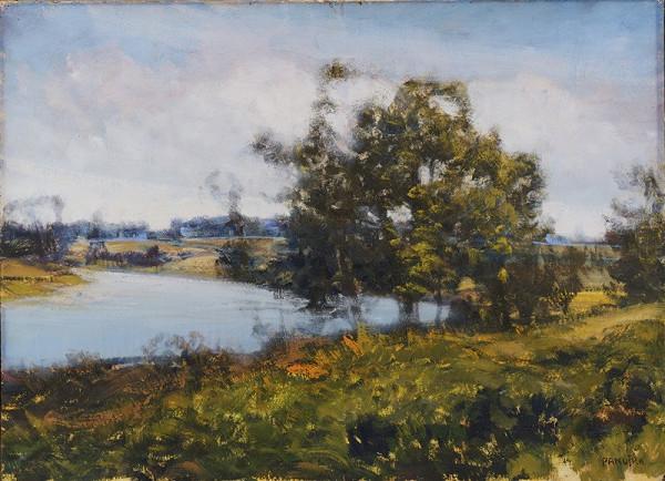 Jaroslav Panuška – Krajina s řekou