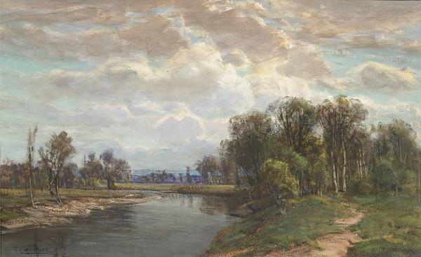 Ferdinad Engelmüller – Krajina s řekou