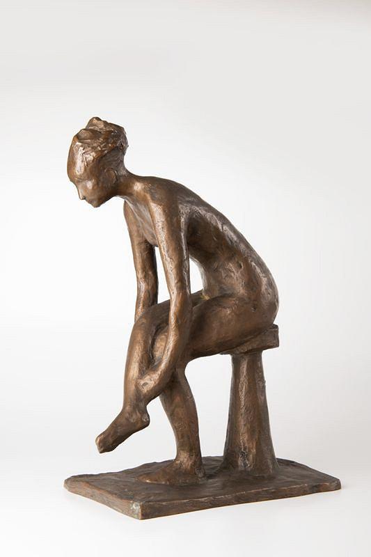 Zina Koulová (Jeřábková) – Sedící dívka
