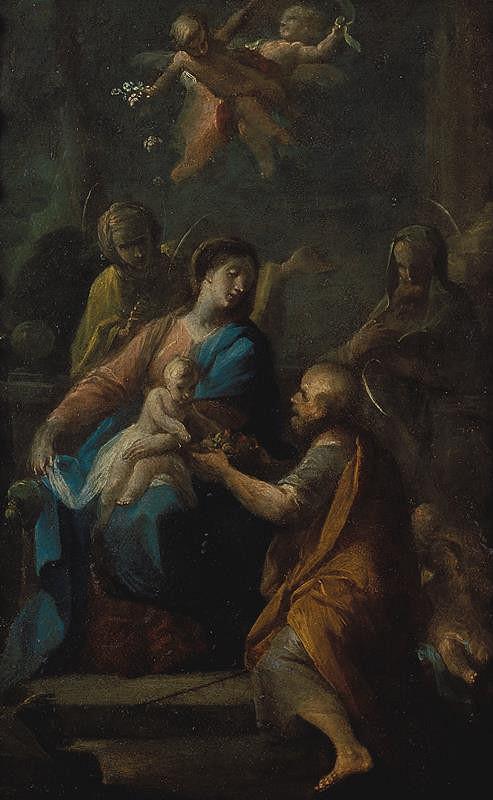 Josef Ignác Sadler (Sattler) – Sv. Příbuzenstvo (I.)