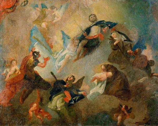 Josef Winterhalder II. (Winterhalter) - Adorace sv. Kříže