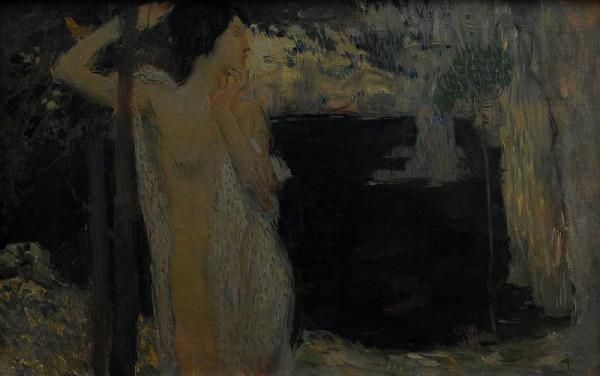 Jan Preisler – Žena u Černého jezera