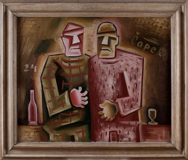 Josef Čapek – Dva přátelé