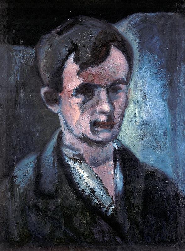 Jan Trampota – Vlastní podobizna