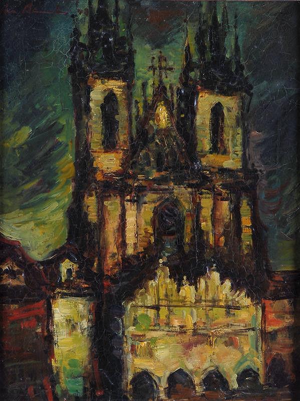 Jan Bauch - Týnský kostel