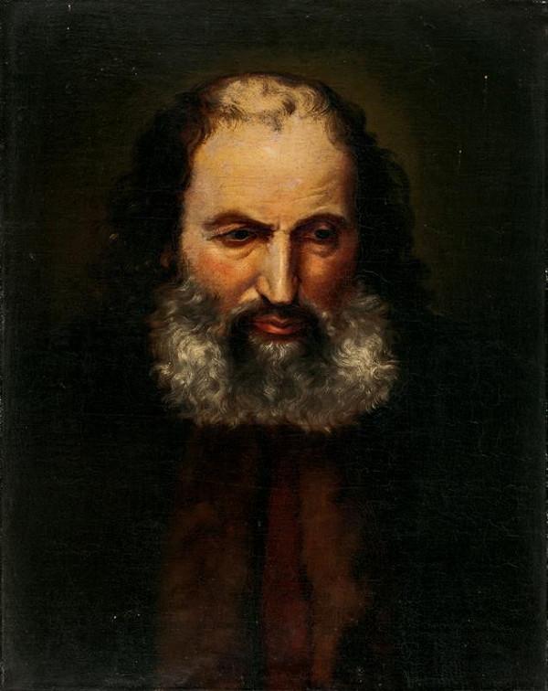 František Tkadlík (Kadlik) – Poprsí starce (Hlava starce, Poprsí Arména)
