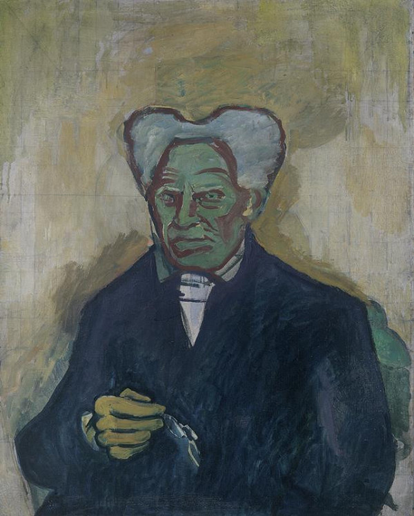 Bohumil Kubišta – Portrét Schoppenhauerův