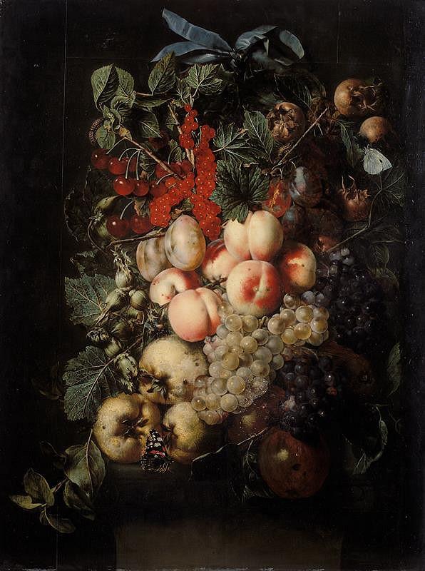 Jan van Kessel - Ovocný feston