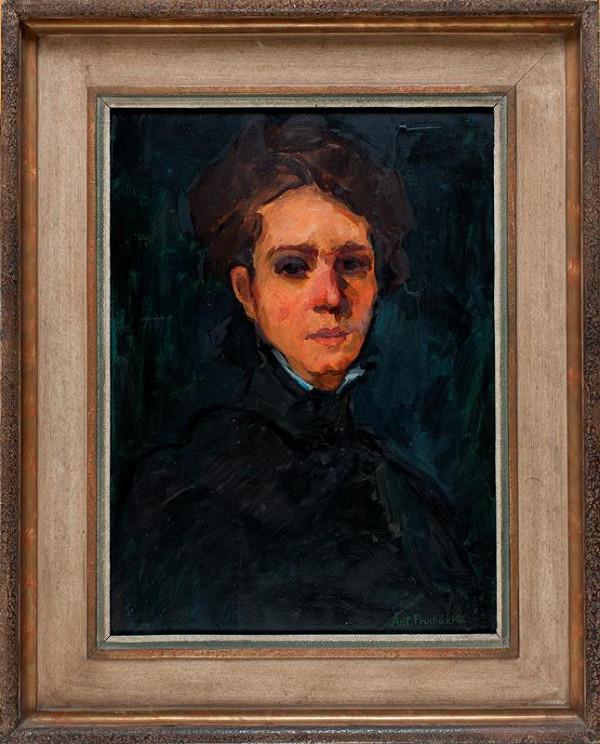 Antonín Procházka - Podobizna paní Linky Procházkové