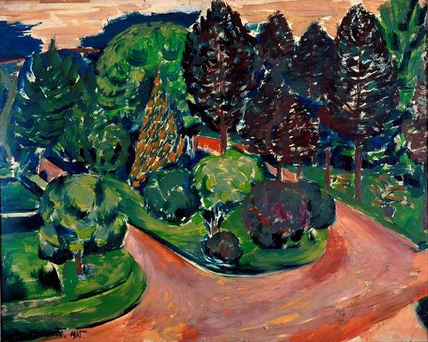 Jan Trampota – Krajina se stromy