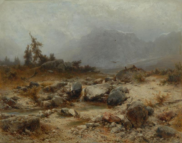 Eduard Peithner von Lichtenfels - Krajina (U Kronau v Kraňsku)