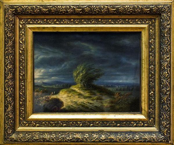 Šimon Tadeáš Milián – Krajina za bouře