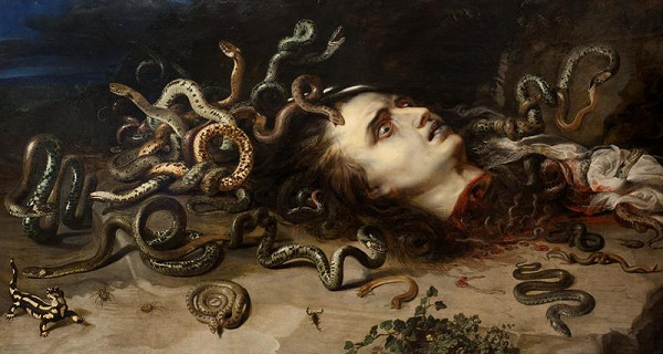 Peter Paul Rubens – Hlava Medusy