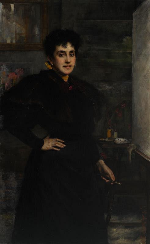Ludmila (Luma) Flesch v.  Brunningen - Vlastní podobizna