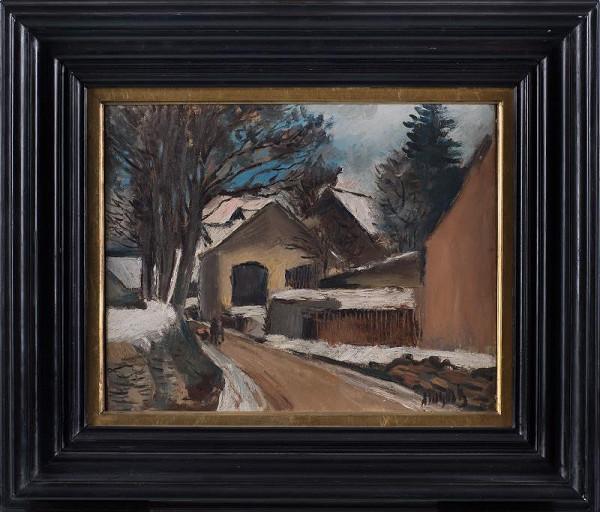 Alfred Justitz - Krajina z Českomoravské vysočiny