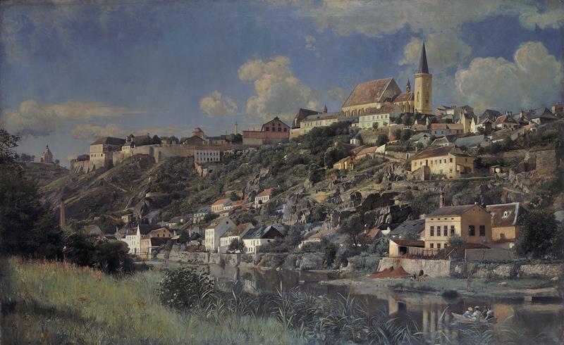 Samuel Brunner – Znojmo, 1898, Moravská galerie