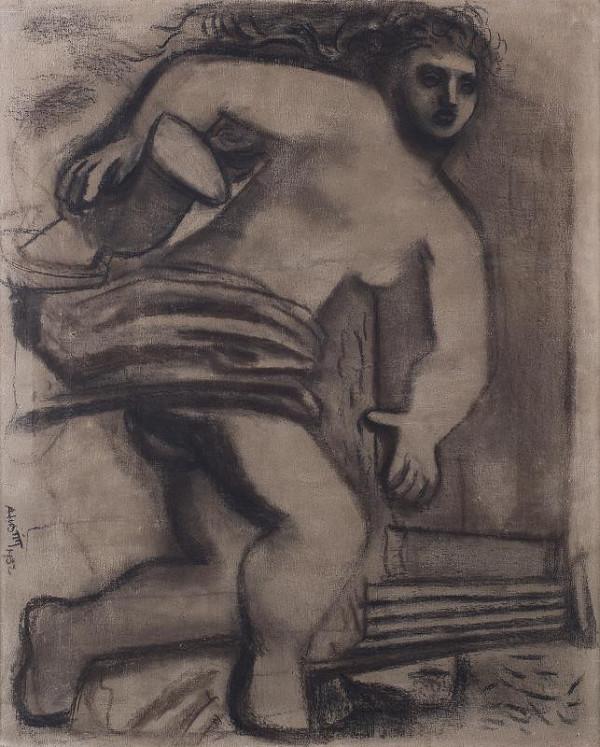 Alfred Justitz - Ležící (Ariadna)