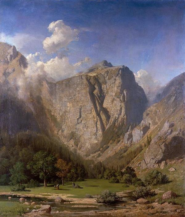 Adolf Kosárek – Alpská krajina