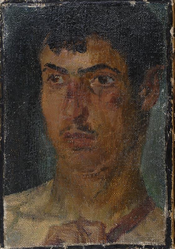 Jan Preisler – Studie k obrazu sv. Jana Křtitele