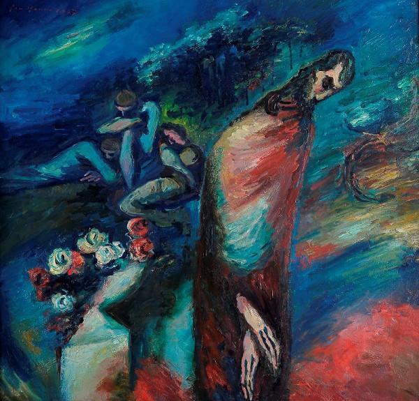 Jan Bauch - Kristus na hoře Olivetské