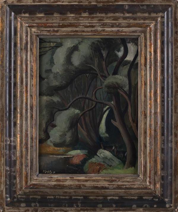 Alfred Justitz – Lesní interiér