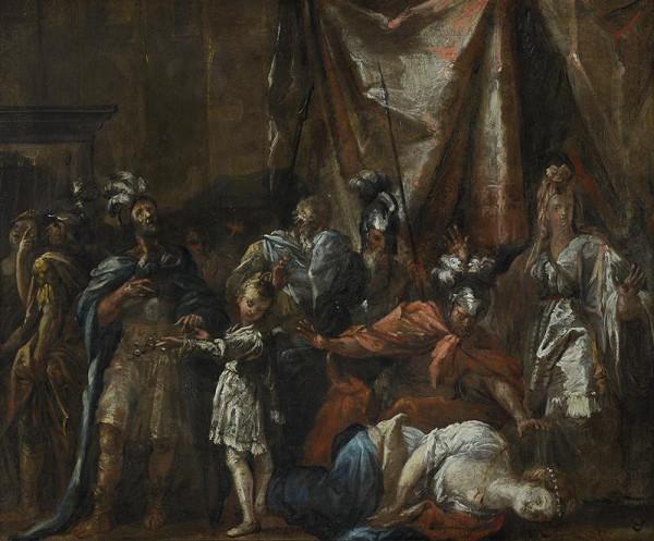 Jan Kutálek (Guttalek) – Antická scéna