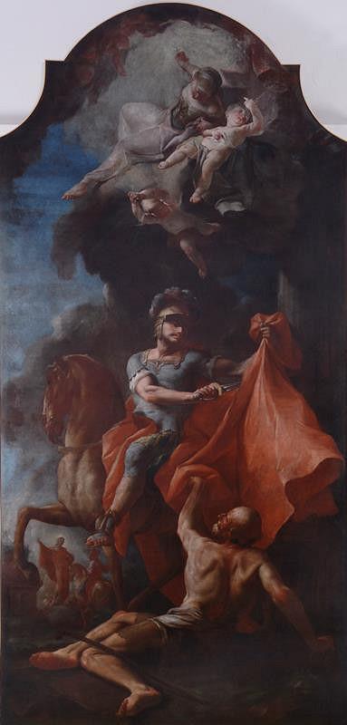 neznámý malíř moravský - Sv. Martin