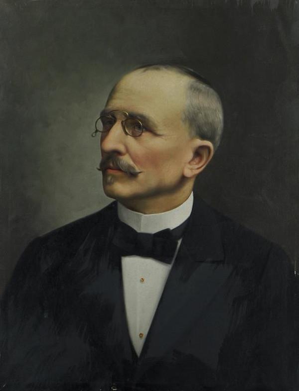 Josef Ladislav Šichan - Podobizna muže s počínající lysinou