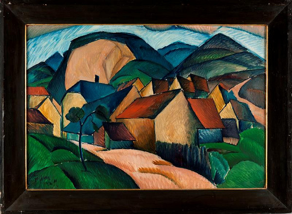 František Foltýn – Horská vesnice