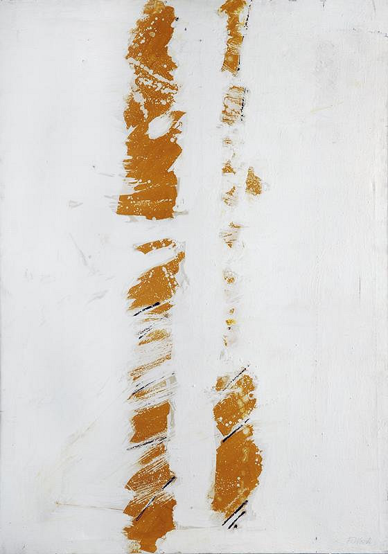 František Dvořák – Bíložlutá struktura