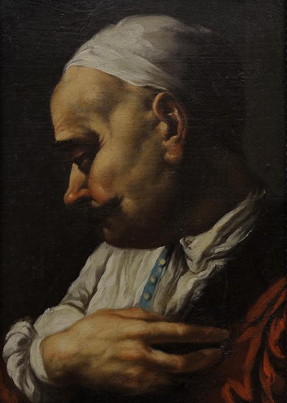 Giovanni Battista Piazzetta - podle - Poprsí Levantince