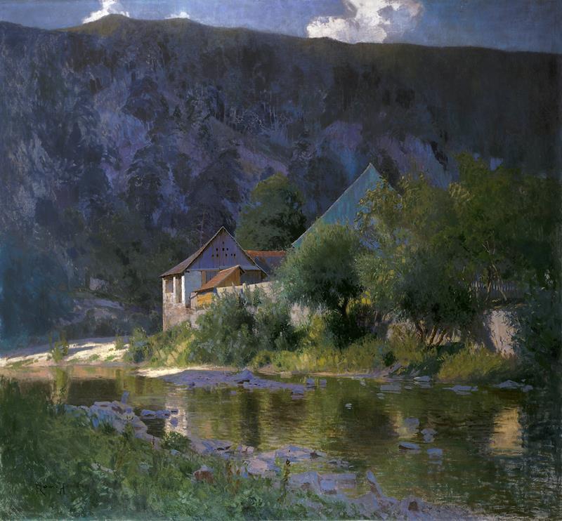 Roman Havelka – Z Bítova, okolo 1905, Moravská galerie