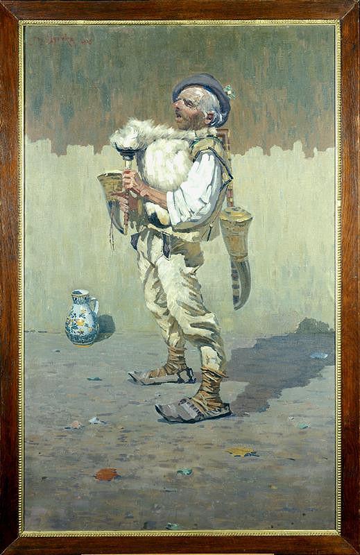 Joža Uprka – Gajdoš(Dudák)